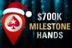 $700.000 te winnen aan Milestone Hand-prijzen bij PokerStars!