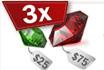 Begin 2014 met driedubbele Gemstones vanaf 2.500 SP!