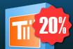 Grijp jouw exclusieve korting op TableScan Turbo - 20% korting!