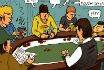 Poker Cartoon #006 - The Shot Clock