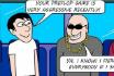 Poker Cartoon #007 - The Hooligan
