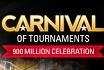 Volgende week begint het PokerStars Carnival of Tournaments