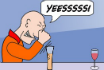 Poker Cartoon - The Trainer
