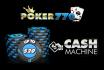 Cash Machine is terug: ontvang tot €20 bij Poker770 en speel onze $10k freeroll