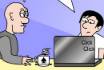 Poker Cartoon - Dating Online