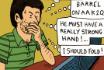 Poker Cartoon - Self-Persuasion