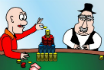 Poker Cartoon - Castles